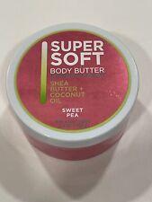 NEW Bath & Body Works Sweet Pea Coconut Oil Shea Body Butter 7oz Rare