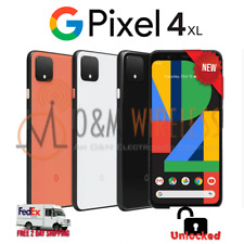 NEW Google Pixel 4XL 64GB 128GB⚫Black⚪White🟠Orange - Factory Unlocked