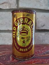 Old Gibraltar beer 12 ounce flat top beer can Los Angeles California Maer