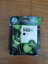 HP 940XL  Black  Ink Cartridge NEW OEM NIB