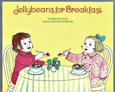 Vintage Children's Book JELLYBEANS FOR BREAKFAST ~ Miriam Young / Beverly Komoda
