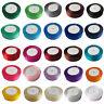 Satin Ribbon size 6,10, 12, 15, 20,25,30, 38mm 23 Metres Each BUY 3 & GET 1 FREE