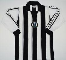 1976-1980 NEWCASTLE UNITED BUKTA HOME FOOTBALL SHIRT (SIZE S)