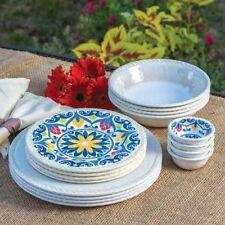 Geometric & Melamine Dinnerware Set | eBay
