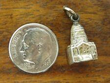 charm Walter Lampl Design Wl Vintage silver Washington D.C Capitol Building