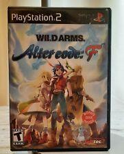 Alter Code: F Wild Arms Game and Bonus Disc