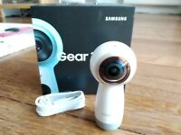 Samsung Gear 360 camera 2017 with Type C cable and Box