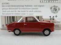 Brekina 27851 Goggomobil Coupé TS 250 (1957) in rubinrot/weiß 1:87/H0 NEU/OVP