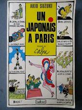 Un Japonais à Paris, dessins de Cabu, Belfond 1988