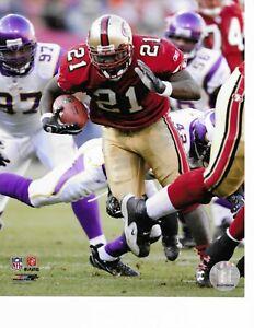 Frank Gore San Francisco 49ers Licensed 8 X 10 Photograph NFL