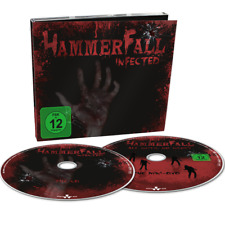 HAMMERFALL Infected LTD DIGIPAK w/ Bonus DVD DRAGONFORCE/CANS/HELLOWEEN/EDGUY!