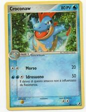 POKEMON CROCONAW 38/115 EX UNSEEN FORCES NON COMUNE THE REAL_DEAL SHOP