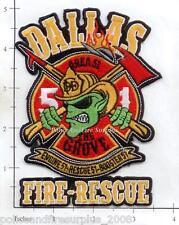 Texas - Dallas Engine 51 Rescue 51 Booster 51 Fire Rescue TX Fire Dept Patch