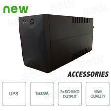 GRUPPO DI CONTINUITA' UPS 1500VA PC 2 INGRESSI SHUKO TVCC