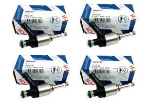4x BOSCH OEM Fuel Injectors Set 06H 906 036AE for VW GTI AUDI A3 A4 A5 Q5 2.0T