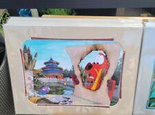 2021 Disney Parks Doug Bolly Print All Fired Up Mulan Mushu Cri-Kee Epcot Arts