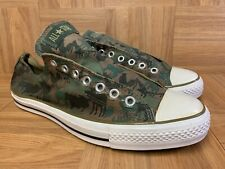 RARE🔥 Converse Chuck Taylor All Star Low Moose Hunting Camo Hunt Camouflage 10
