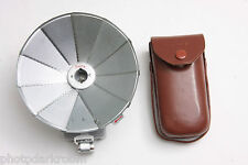 Deltz Fan Flash Fold-Out Reflector with Case - Clean - No Battery - Vintage C463
