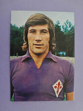 CARTOLINA POSTCARD CALCIO SOCCER FIORENTINA GALDIOLO 1976-77  (NO PANINI) - FIO