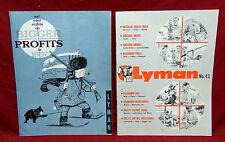Two Lyman Original Advertising Items; No. 43 Catalog; 4 Fold Advertising Flyer