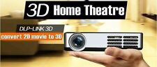 700 ANSI DLP FULL HD 1080P 3D Android 4.2 Mini WIFI Wireless Projector