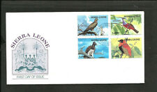 BRITISH SIERRA LEONE - BIRDS FDC 1984, VF