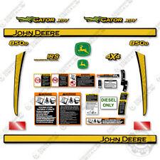 John Deere 850d Decal Kit Utility Vehicle Gator Decals 3m Vinyl