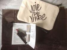 Laura Mercier 4 Pc Set Makeup Bag, Lip Stick, Caviar Stick, Tinted Moisturizer