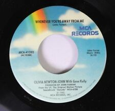 Pop 45 Olivia Newton-John With Gene Kelly - Whenever You'Re Away From Me / Xanad