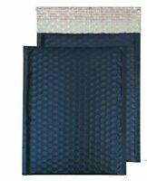 "#2  8.5X12 8.5"" x 11.25' Matte Metallic  dark blue  Bubble Mailers Envelopes"
