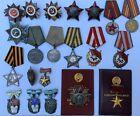 Russian Soviet USSR Medals Orders