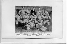 1896 Spalding - University of Dartmouth & Georgetown Baseball Team Photos 1895