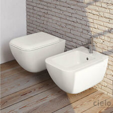 Cielo Shui Comfort vaso keep clean, bidet e coprivaso softclose