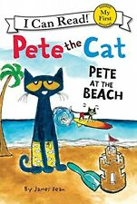 Pete the Cat Pete at the Beach (My First I Can Read), New, Free Shipping