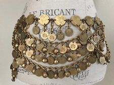 Stunning Bells & Coins multi layer Belly dance belt.