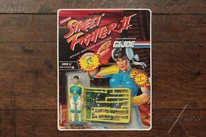 Chun Li GI JOE Action Figure SF2 Street Fighter II Capcom 81082/6238 1993