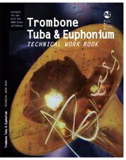 AMEB TROMBONE TUBA AND EUPHONIUM TECHNICAL WORK ***BRAND NEW***