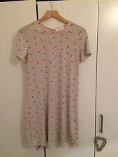Polka Dot Urban Outfitters Dress Eiffel Tower Print size Small