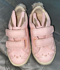Girls Infant Size 7 - Next Cute Bunny Shoes
