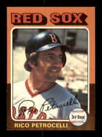 1975 Topps #356 Rico Petrocelli NM/NM+ Red Sox 516908