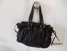 Junior Drake NWT Large Black Soft Leather hand/shoulder bag 16W x 12H Retail$498