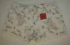 Women's Mossimo Supply Co.Short Shorts Fringe  Size 16/33 Waist  NWT
