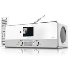 Hama DIR3110 Internetradio DAB DAB+ FM Radio Wifi WLAN LAN USB Spotify weiss
