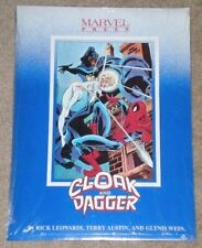 CLOAK AND DAGGER PORTFOLIO * Brand New/Sealed * Contains 9 Prints Rick Leonardi