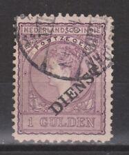 Netherlands Indies Nederlands Indie dienst 26 used VERSCHOVEN service stamp 1911