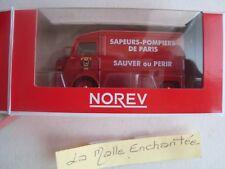 NEW 1/64 3-INCHES CITROEN TUBO HY ARTIFICIERI POMPIERI DI PARIGI -NOREV
