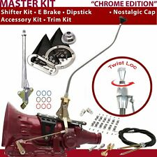 C4 Shifter Kit 23 Swan E Brake Cable Clamp Clevis Trim Kit Dipstick For D1F91