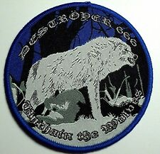 destroyer 666 unchain the wolves  WOVEN  PATCH