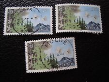 NORVEGE - timbre yvert et tellier n° 903 x3 obl (A30) stamp norway (A)