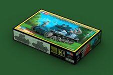HOBBY BOSS 80147 1/35 German Flakpanzer IA w/Ammo.Trailer